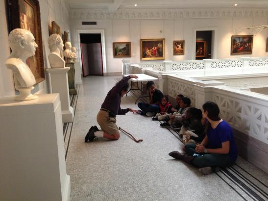 Educational opportunities inside museums